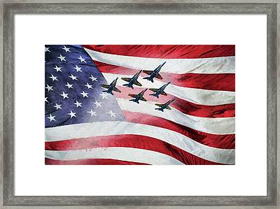 Our Angels Framed Print by JC Findley