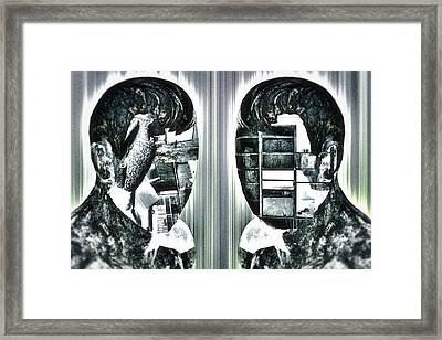Our Innermost Thoughts Framed Print by Rabiri Us