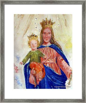 Our Lady Of Perpetual Help Framed Print by Patricia Ducher