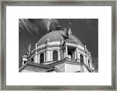 Our Lady Of Victory Basilica 2 Framed Print by Peter Chilelli