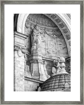 Our Lady Of Victory Basilica 3 Framed Print by Peter Chilelli