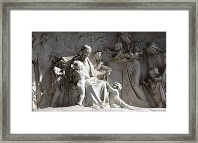 Our Lady Of Victory Basilica 4 Framed Print by Peter Chilelli