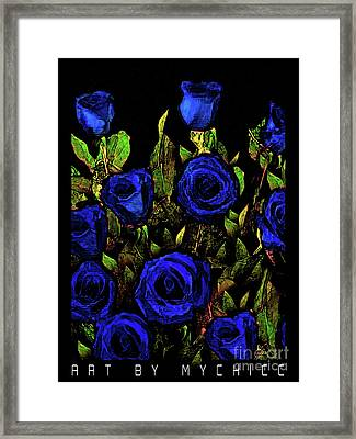 Our Officers In Blue Framed Print by MyChicC