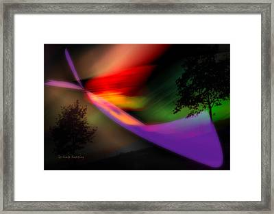 Our World Framed Print by Gerlinde Keating - Galleria GK Keating Associates Inc