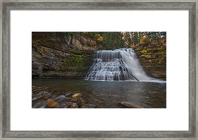 Ousel Falls Framed Print by Loree Johnson