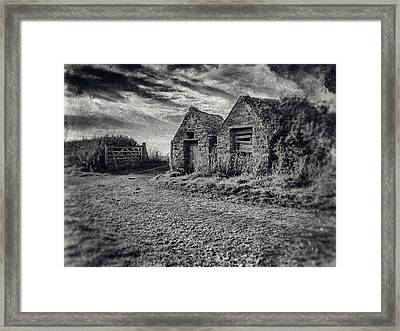 Out House Framed Print by Stewart Scott