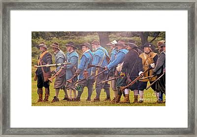 Out Of Ammunition  Framed Print by Linsey Williams
