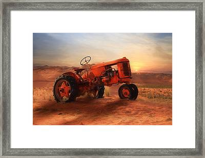 Out Of Commission Framed Print by Lori Deiter