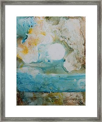Out Of Nothing Framed Print by Elizabeth Carr