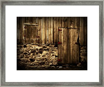 Out Of Place 2 Framed Print by Julie Hamilton