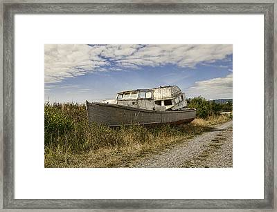 Out Of Service Framed Print by Phyllis Taylor