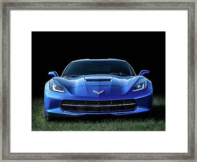 Out Of The Blue Framed Print by Douglas Pittman