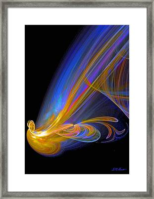 Out Of The Blue Framed Print by Michael Durst