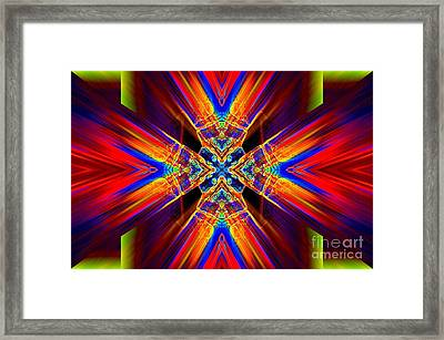 Out Of The Box Framed Print by Lorles Lifestyles