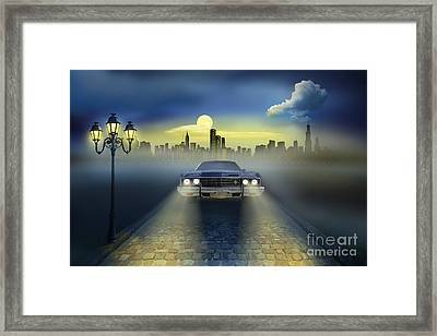 Out Of The City Framed Print by Monika Juengling