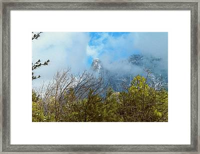 Out Of The Mist Framed Print by Glenn McCarthy Art and Photography