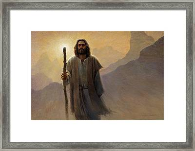 Out Of The Wilderness Framed Print by Greg Olsen