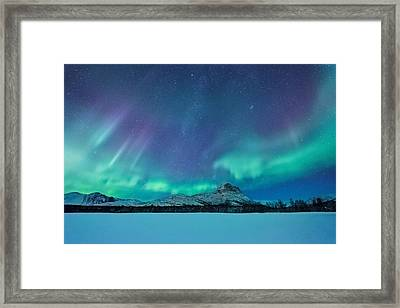 Out Of The Woods Framed Print by Tor-Ivar Naess