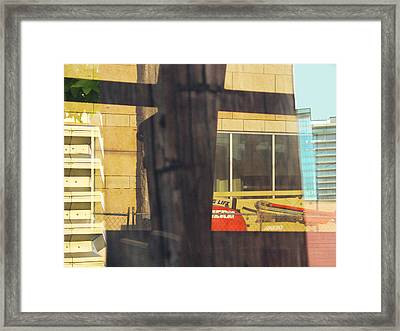 Out The West Window Framed Print by Ross Odom