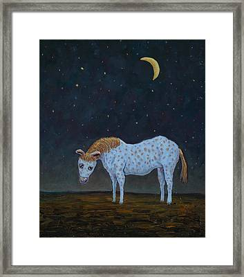 Out To Pasture Framed Print by James W Johnson