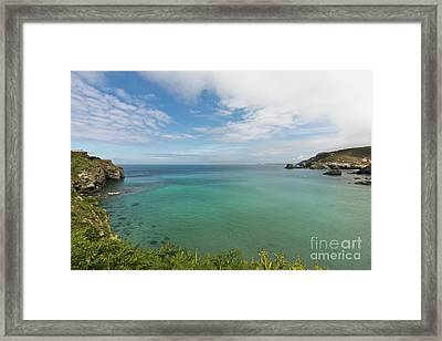 Out To Sea Framed Print by Terri Waters
