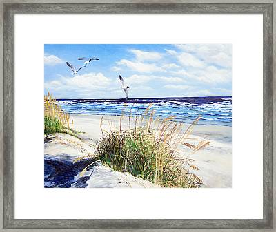 Outer Banks Framed Print by Pamela Nations