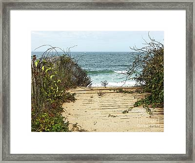 Outermost Passage Framed Print by Michelle Wiarda
