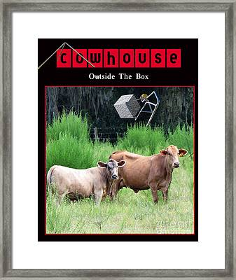 Outside Of The Box No. I Framed Print by Geordie Gardiner