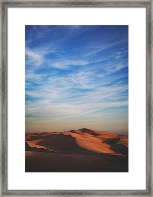 Over And Over Framed Print by Laurie Search