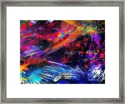 Over Here Framed Print by Expressionistartstudio Priscilla-Batzell