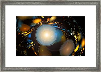 Over The Dee Framed Print by Brainwave Pictures