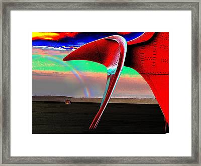 Over The Rainbow Framed Print by Tim Allen