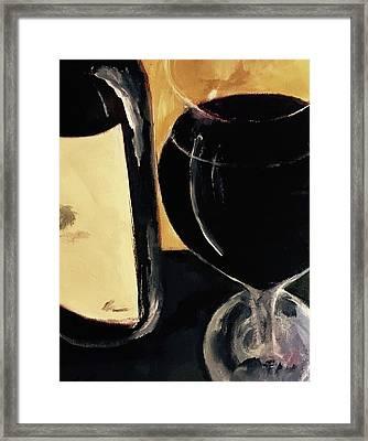 Over The Top Framed Print by Lisa Kaiser