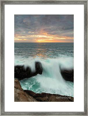 Over The Top Framed Print by Mike Dawson