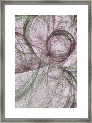 Overdrape Proportion  Id 16099-084751-27670 Framed Print by S Lurk