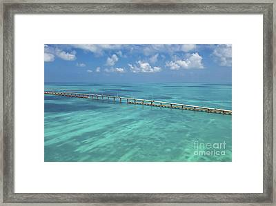 Overseas Highway Framed Print by Patrick M Lynch