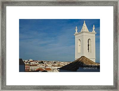 Overview Of Tavira City. Portugal Framed Print by Angelo DeVal