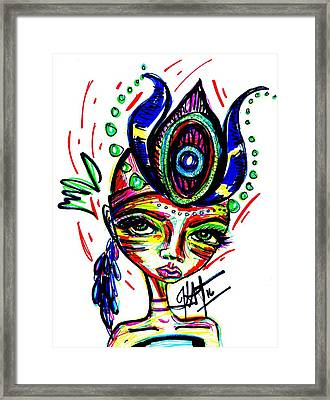 Own It Framed Print by Kat Templeton