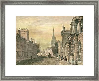 Oxford Framed Print by G Hollis