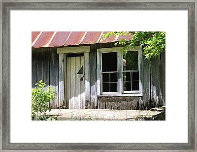 Ozark Home Framed Print by Marty Koch