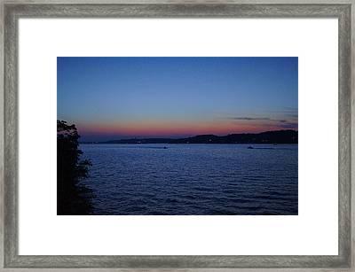 Ozark Twilight Framed Print by Cricket Hackmann
