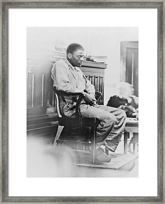 Ozzie Powell, One Of The Nine Framed Print by Everett
