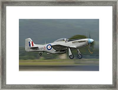P-51 Mustang Framed Print by Barry Culling