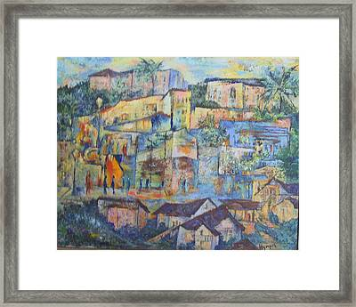 Pacific Palisades Framed Print by Lily Hymen