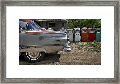 Packard Framed Print by Skip Hunt