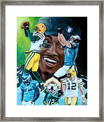 Packers  Glorious Moments Framed Print by Dawn Graham