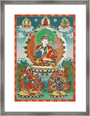 Padmasambhava Framed Print by Sergey Noskov