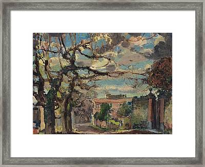 Paesaggio Framed Print by Andrea Tavernier