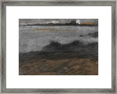 Paesaggio Framed Print by Umberto Boccioni
