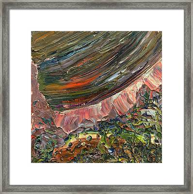 Paint Number 10 Framed Print by James W Johnson